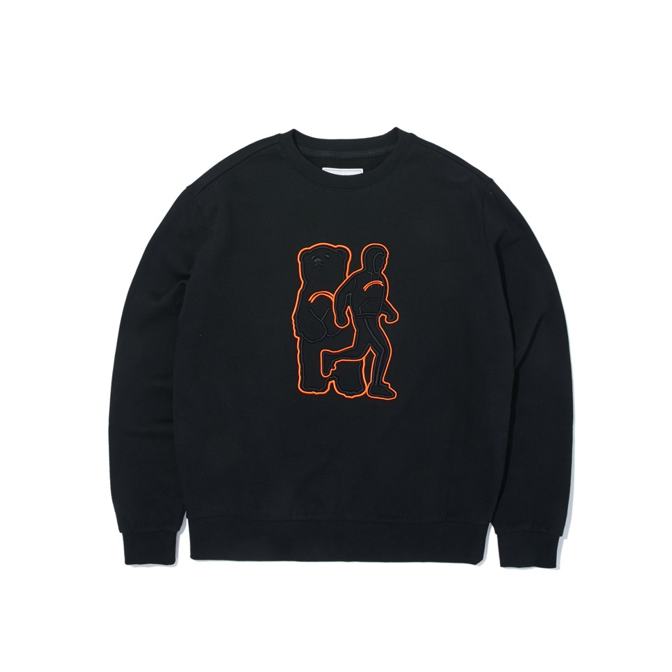 [20FW][ATELIER] THE ARTIC bear 2 SWEAT SHIRTS_BLACK