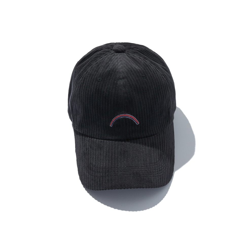 [20FW] CORDUROY ARC CAP_BLACK